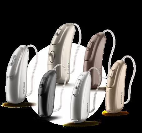 Слуховые аппараты phonak