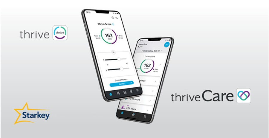 thirve and thrive care app